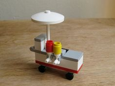 So charming! - LEGO custom kit Hot Dog Stand by GuyTheFly on Etsy, $12.99