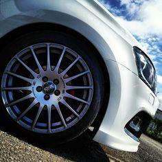 OZ Racing Superturismo-GT (Grigio Corsa) for Volkswagen Polo Wheels And Tires, Car Wheels, Audi, Volkswagen Polo, Racing Wheel, Vw Cars, Mechanical Design, Alloy Wheel, Bugatti