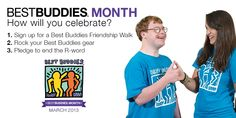Best Buddies® is a nonprofit 501(c)(3) organization dedicated to establishing a global volunteer movement that creates opportunities for one-to-one friendships, integrated employment and leadership development for people with intellectual and developmental disabilities (IDD).