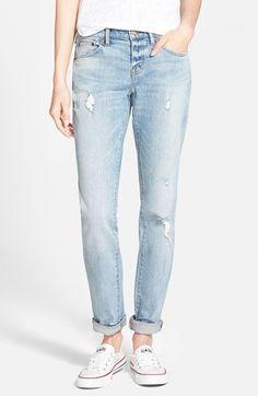 Women's Madewell 'The Slim Boyjean' Boyfriend Jeans (Kinsey Wash)