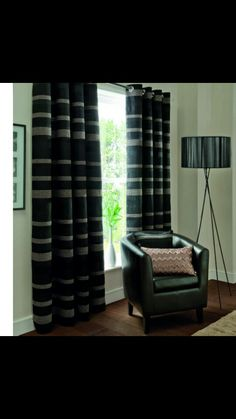 Tordero Black Silver Ready Made Curtains | Curtains, Silver and Pencil