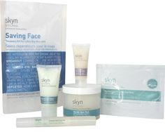 Saving Face Kit. Send your bridesmaids a cute pre-wedding gift to help them prep their skin for the wedding. #skynbrides #wedding