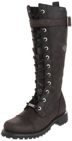 Harley-Davidson Women's Savannah Motorcycle Boot ^^ Additional info  : Boots Shoes