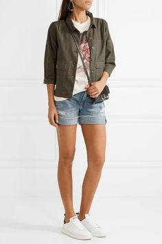 The Great | Station canvas jacket | NET-A-PORTER.COM