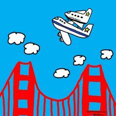 San Francisco 9/21/2012. Space Shuttle Endeavor. #Endeavour #ToddParr. #cool