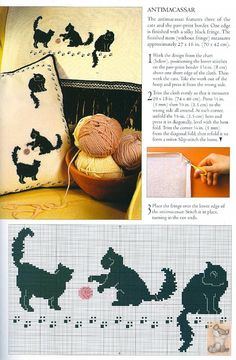Cross Stitch Cats:
