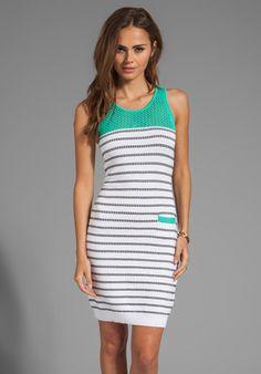 Milly May Knits Mia Dress in Aqua from REVOLVEclothing.com