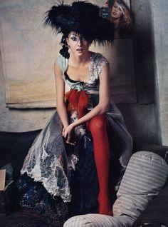 CHRISTIAN LACROIX HAUTE COUTURE F/W 2002 - Vogue US, October 2002