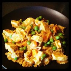 Mango Curry Chicken Over Quinoa