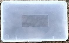 Qty 20 Pcs - Clear Plastic Game Cartridge Card Box Case Cover for Game Boy GBA SP GBM