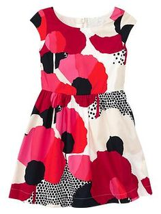 for Lottie  Floral flounce dress | Gap