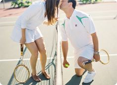 i wish there was more of this when i pla tennis...
