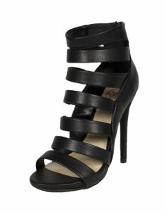 Some! By Delicious Strappy Platform High Heel Ankle Bootie with Back Zipper, black leatherette, 7.5 M Delicious,http://www.amazon.com/dp/B00HQOBE6C/ref=cm_sw_r_pi_dp_BFDatb0BTXMGPYKY