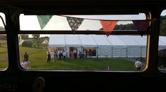 View from the top of the bus bar at David and Nurjan's wedding here. www.angrovepark.co.uk