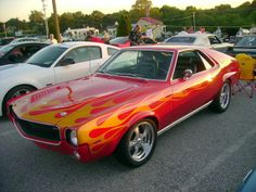 1969 AMC AMX Looks like a mix between a Chevelle and a Challenger cx Custom Muscle Cars, Custom Cars, Rat Rods, Austin Martin, Ford Mustang, Jaguar, Jeep, Amc Javelin, American Motors