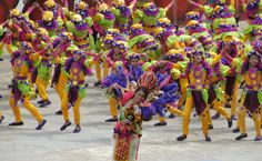 in honor of Santo Nino the Sinulog Festival of Cebu, Philippines