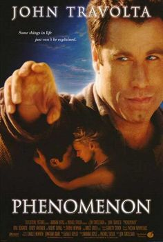 1996 Directed by Jon Turteltaub. With John Travolta, Kyra Sedgwick, Forest Whitaker, Robert Duvall. An ordinary man sees a bright light descend from the sky, and discovers he now has super-intelligence and telekinesis. Robert Duvall, John Travolta, Kyra Sedgwick, Harrison Ford, Love Movie, Movie Tv, Movies To Watch, Good Movies, Entertainment