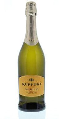 Ruffino Prosecco...Crisp with very tiny bubbles