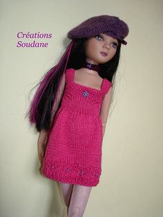 2. English and French Pdf knitting pattern ONLY DRESS by soudane, $7.00