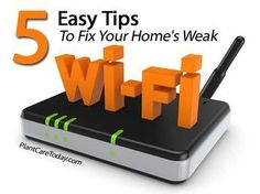 5 Tips To Fix Your Home's Weak Wi-Fi