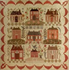 Home Sweet Home Block (No Place Like Home) of the Month Quilt Program