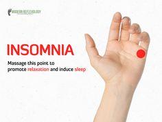 Now, you can sleep more and drive away #Insomnia. #Relaxation #SleepMore #Reflexology #PressurePoints #ModernReflexology