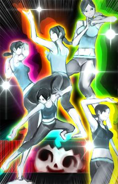 Wii Fit Trainer fan art