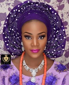 30 Nigeria Gele styles to try this Saturday - Ankara Lovers African Attire, African Fashion Dresses, African Wear, African Women, African Dress, African Style, Nigerian Outfits, Nigerian Bride, African Traditional Wedding