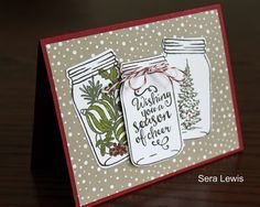 Here in North Carolina, it's August and approximately 1 billion degrees. And yet, I'm designing cards for my first holiday class !   I a...