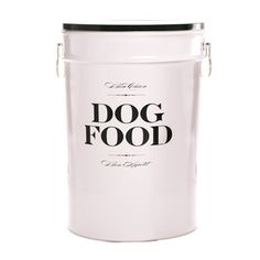 Bon Chien Food Storage Lrg Black .. you know you need this...
