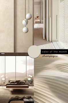 How to choose a color for my living room? Avoid mistakes and be inspired with our guide for the perfect living room paint choice Shades Of Beige, Color Beige, Dulux Paint Colours, Green Painted Walls, Dark Grey Walls, Interior Styling, Interior Design, Champagne Color, Living Room Paint