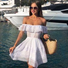 The fashion model introduction to Katusha Lobanova Photo ( Latest pictures and photo shoots from Katusha Lobanova. Cute Summer Outfits, Girly Outfits, Holiday Outfits, Cute Casual Outfits, Spring Outfits, Stylish Outfits, Casual Dresses, Short Dresses, Fashion Dresses