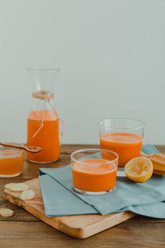 Carrot, Apple & Ginger Juice by photographer Darina Kopcok