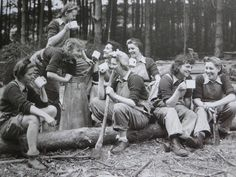 The Women's Timber Corps.