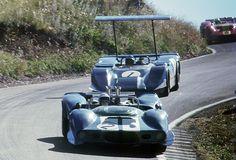 Niel Allen Elfin 400 Chev, Frank Matich Matich SR4 Repco, Bathurst , Easter 1969 (oldracephotos.com/dick simpson)...