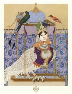 Arnica Easterly. The most beautiful fairy tales Thousand and One Nights. Illustrator Olga Dugina, 2011.