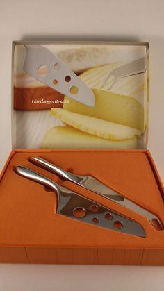 FJORD Scandinavian Design Stainless Cheese Knife Set Hardanger Bestikk New…