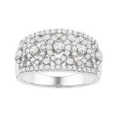 Fred Meyer Jewelers   1 ct. tw. Diamond Fashion Ring $958.00