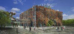 Miralles Tagliabue EMBT  italian pavilion expo 2015 . milan
