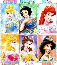 Disney princesses in Jewel gowns