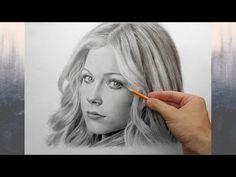 Аврил Лавин - портрет карандашом (Avril Lavigne - drawing portrait) - YouTube