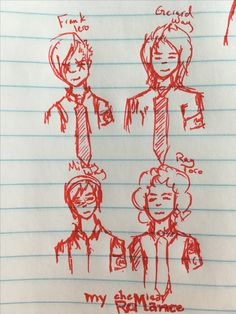 I was doodling in my notebook again (sorry there's no Bob)<<<who cares this is awesome (nobody liked Bob anyways xD)