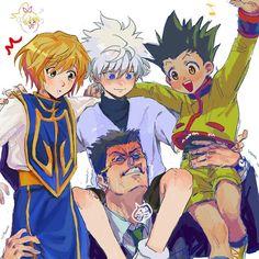 Hunter X Hunter, Hunter Anime, City Hunter, Manga Anime, Me Anime, Fanarts Anime, Gon Killua, Hisoka, Hxh Characters