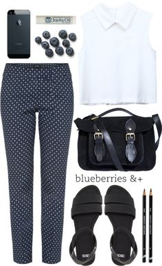 """""""Blueberries"""" by tania-maria on Polyvore"""