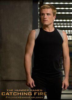 Josh Hutcherson es Peeta Mellark