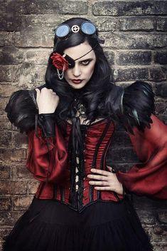 Model: Anneke Nekro, Makeup & Cosplay: El Costurero Real, Goggles: Felix Goggles