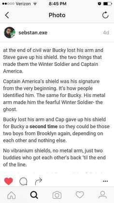 Ahhhh! Bucky and Steve gave up their most iconic things AGAIN for each other.