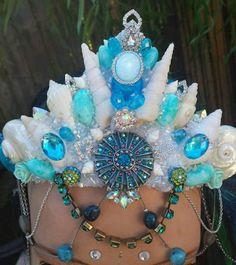 Check out this item in my Etsy shop https://www.etsy.com/listing/503581362/mermaid-seas-shell-crown-atlantis
