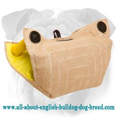 #Jute #Puppy #Dog #Builder for #English #Bulldog Basic Training $39.90 | www.all-about-english-bulldog-dog-breed.com