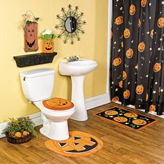 Halloween Bathroom Ideasand Dont Forget To Add Visit Www - Halloween bathroom decor sets